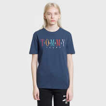 Женская футболка Tommy Jeans 1985 Embroidery Black Iris фото- 1