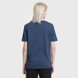 Женская футболка Tommy Jeans 1985 Embroidery Black Iris фото- 3