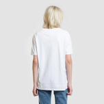 Женская футболка Tommy Jeans 1985 Embroidery Classic White фото- 3