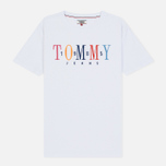 Женская футболка Tommy Jeans 1985 Embroidery Classic White фото- 0