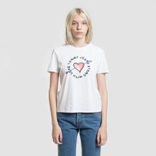 Женская футболка Tommy Jeans Arrow Graphic Classic White фото- 1