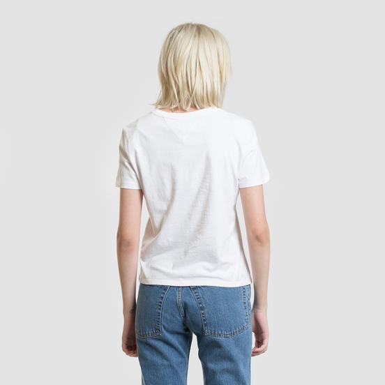 Женская футболка Tommy Jeans Arrow Graphic Classic White