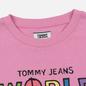 Женская футболка Tommy Jeans Bold Statement Lilac Chiffon фото - 1