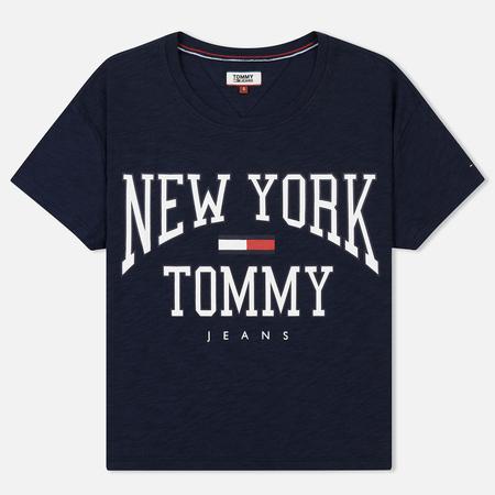 Женская футболка Tommy Jeans Boxy New York Black Iris
