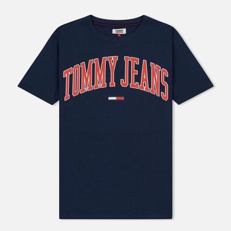 Женская футболка Tommy Jeans Collegiate Logo Black Iris