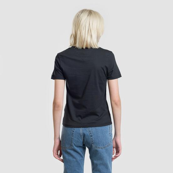 Женская футболка Tommy Jeans Corp Logo Black