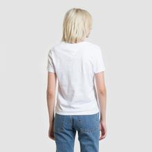 Женская футболка Tommy Jeans Corp Logo Classic White фото- 3