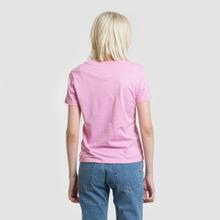Женская футболка Tommy Jeans Corp Logo Lilac Chiffon фото- 3