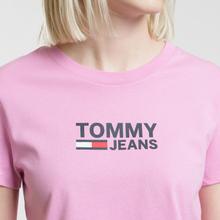 Женская футболка Tommy Jeans Corp Logo Lilac Chiffon фото- 2