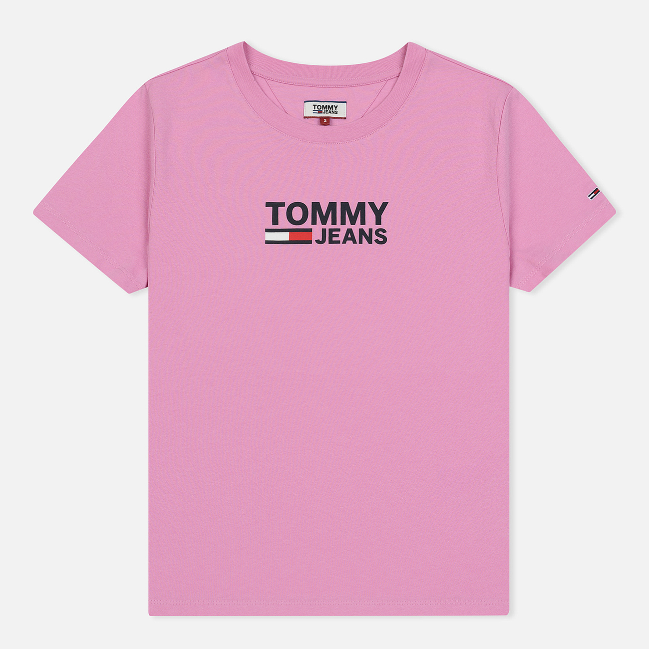 Женская футболка Tommy Jeans Corp Logo Lilac Chiffon