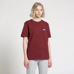 Женская футболка Tommy Jeans Crest Flag Cabernet фото- 2