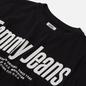 Женская футболка Tommy Jeans Diagonal Logo Black фото - 1