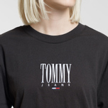 Женская футболка Tommy Jeans Embroidery Graphic Black фото- 2