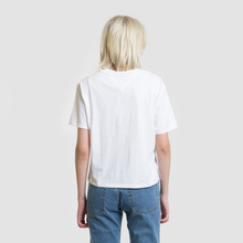 Женская футболка Tommy Jeans Embroidery Graphic Classic White фото- 3