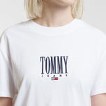 Женская футболка Tommy Jeans Embroidery Graphic Classic White фото- 2