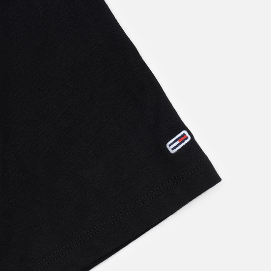 Женская футболка Tommy Jeans Linear Logo Detail Black