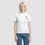 Женская футболка Tommy Jeans Summer Back Graphic Classic White фото- 2