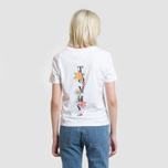 Женская футболка Tommy Jeans Summer Back Graphic Classic White фото- 4