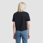 Женская футболка Tommy Jeans Tommy Badge Black фото- 3