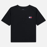 Женская футболка Tommy Jeans Tommy Badge Black фото- 0