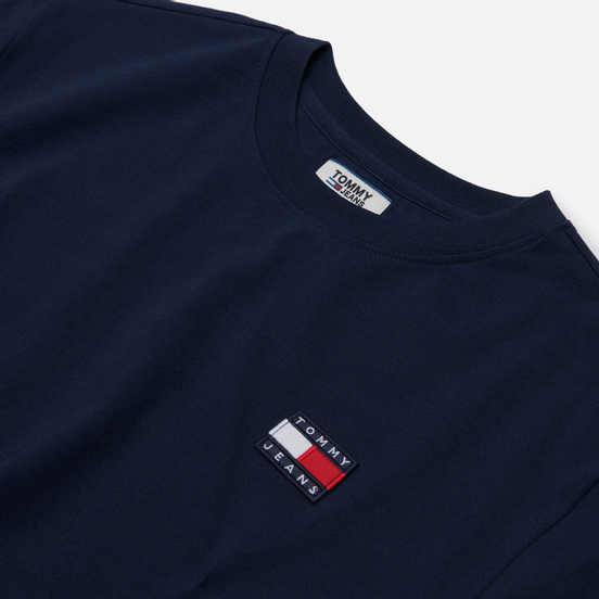 Женская футболка Tommy Jeans Tommy Badge Black Iris