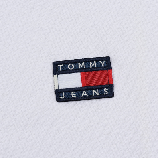 Женская футболка Tommy Jeans Tommy Badge Classic White