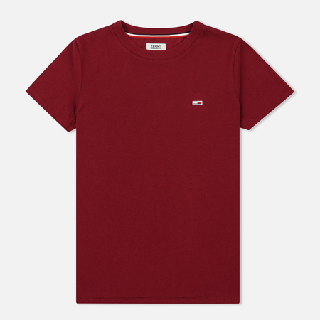 Женская футболка Tommy Jeans Tommy Classic Rumba Red