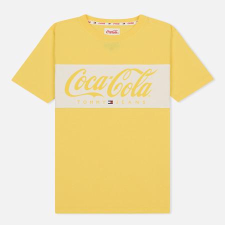 Женская футболка Tommy Jeans x Coca-Cola Logo Primrose Yellow