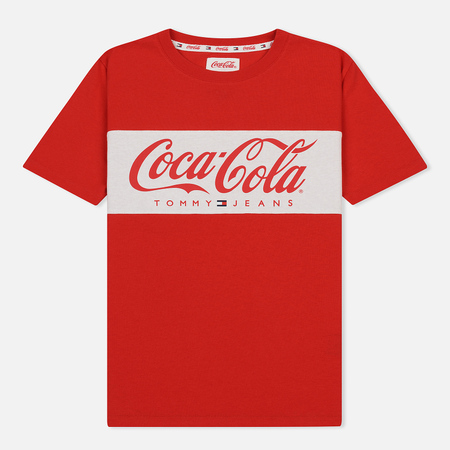 Женская футболка Tommy Jeans x Coca-Cola Logo Red
