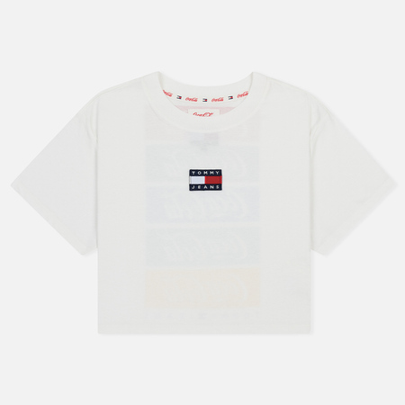 Женская футболка Tommy Jeans x Coca-Cola Repeat Bright White