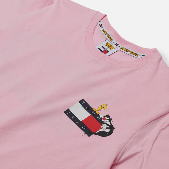 Женская футболка Tommy Jeans x Looney Tunes Romantic Pink