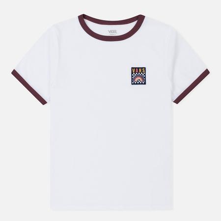 Женская футболка Vans New Age Rainbow White/Catawba Grape