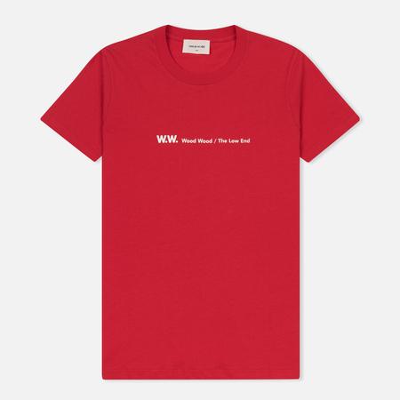 Женская футболка Wood Wood Eden Red