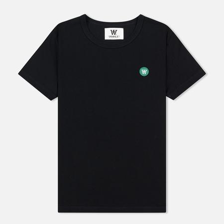 Женская футболка Wood Wood Uma Double A Black
