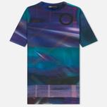 Женская футболка Y-3 All Over Print SS Purple фото- 0