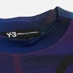 Женская футболка Y-3 All Over Print SS Purple фото- 1