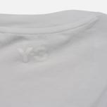 Женская футболка Y-3 Colour Logo White фото- 4