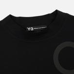 Женская футболка Y-3 Jersey Collar Black фото- 1