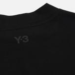 Женская футболка Y-3 Jersey Collar Black фото- 4