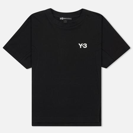 Женская футболка Y-3 Logo Graphic Black/White