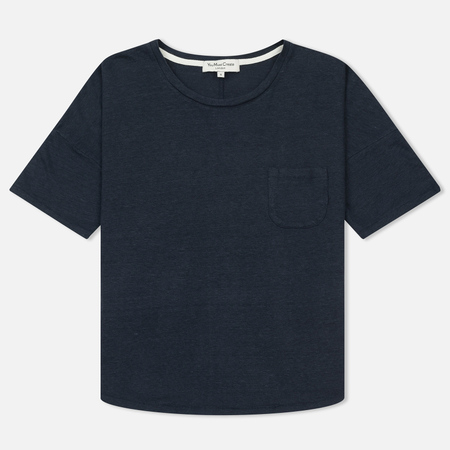 Женская футболка YMC Before Sunrise Linen Navy