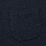 Женская футболка YMC Before Sunrise Linen Navy фото- 2