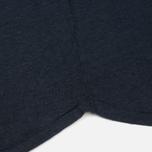 Женская футболка YMC Before Sunrise Linen Navy фото- 4