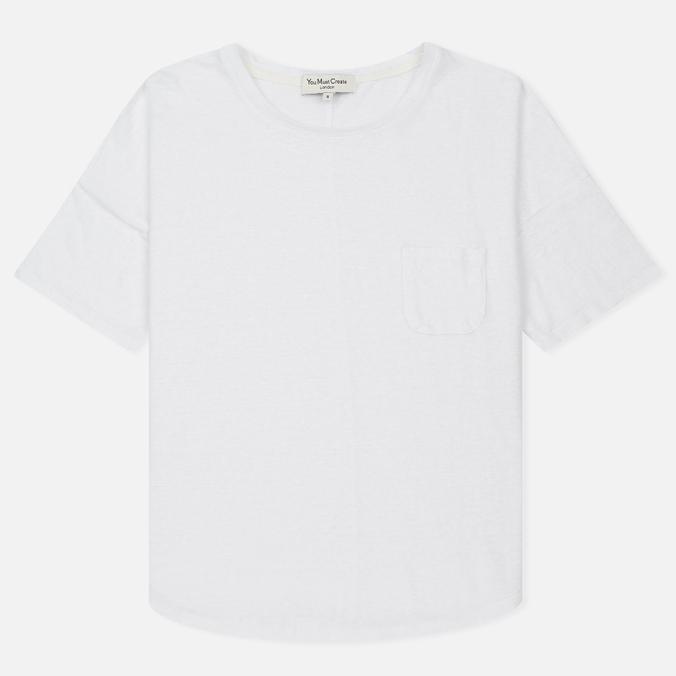 Женская футболка YMC Before Sunrise Linen White