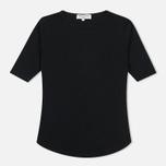 Женская футболка YMC Charlotte Black фото- 0