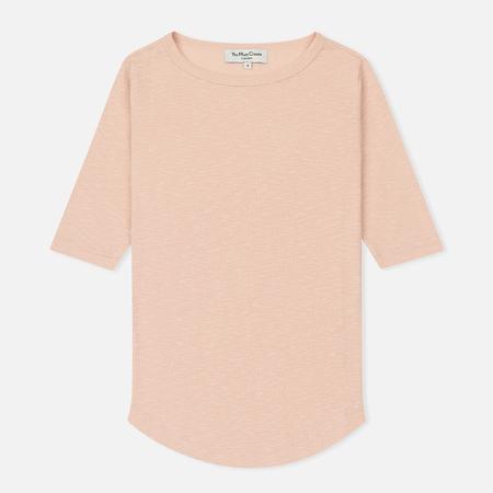 Женская футболка YMC Charlotte Lightweight Slub Cotton Pink