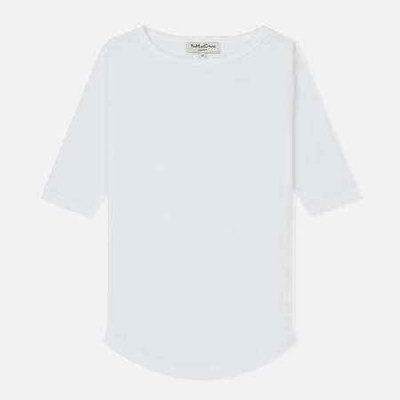 Женская футболка YMC Charlotte Lightweight Slub Cotton White