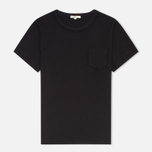 Женская футболка YMC Ruffle Black фото- 0