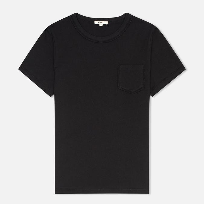 Женская футболка YMC Ruffle Black