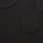 Женская футболка YMC Ruffle Black фото- 2